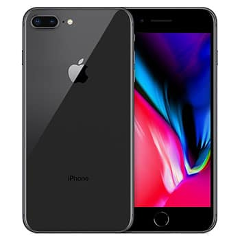 iPhone 8+ with Unlocked Repaired Screen