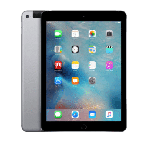 iPad Air with an unlocked repaired screen