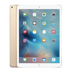 iPad with an unlocked repaired screen