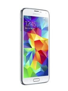 Samsung Galaxy S5 with unlocked repaired screen