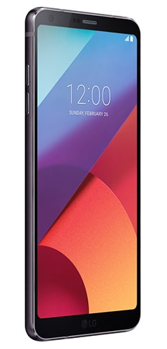 LG G6 with unlocked repaired screen