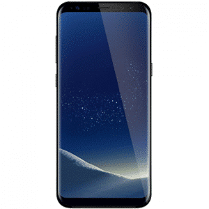 Samsung Galaxy S8+ with unlocked repaired screen