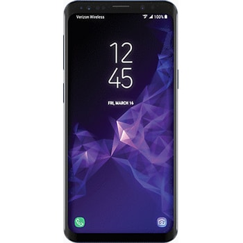 Samsung Galaxy S9+ with unlocked repaired screen
