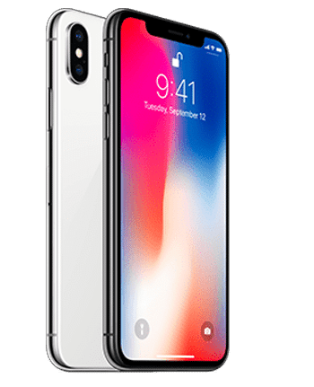 iPhone X with Unlocked Repaired Screen