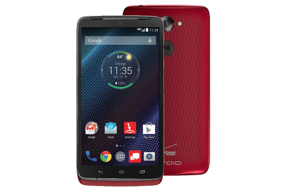 Motorola Droid Turbo with unlocked repaired screen