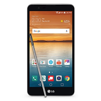 LG Stylo 2 Smartphone with unlocked and repaired screen
