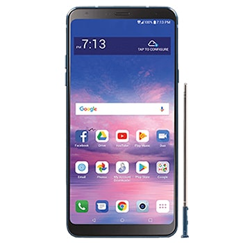 LG Stylo 4 Smartphone with unlocked and repaired screen